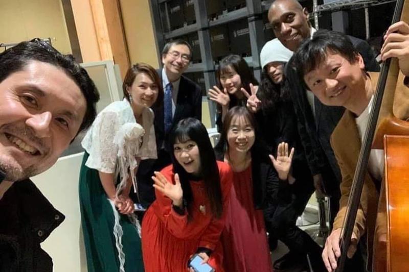 「Team Yao」のメンバーたち<br />