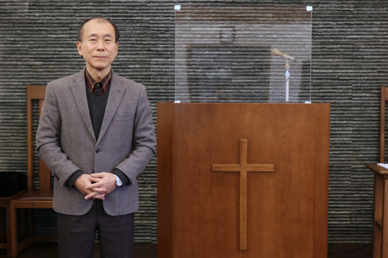 日本アライアンス教団千葉キリスト教会の牧師で精神科医の山中正雄氏