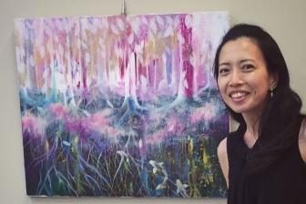 クリスチャン画家の山田桂子さんが姫路市美術展に入選 日米でアートミニストリー展開