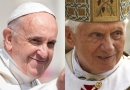 教皇フランシスコと前教皇ベネディクト16世、コロナワクチン接種