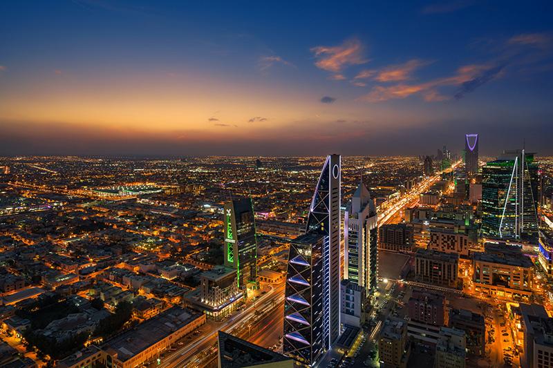サウジアラビアの首都リヤド(写真:lawepw)