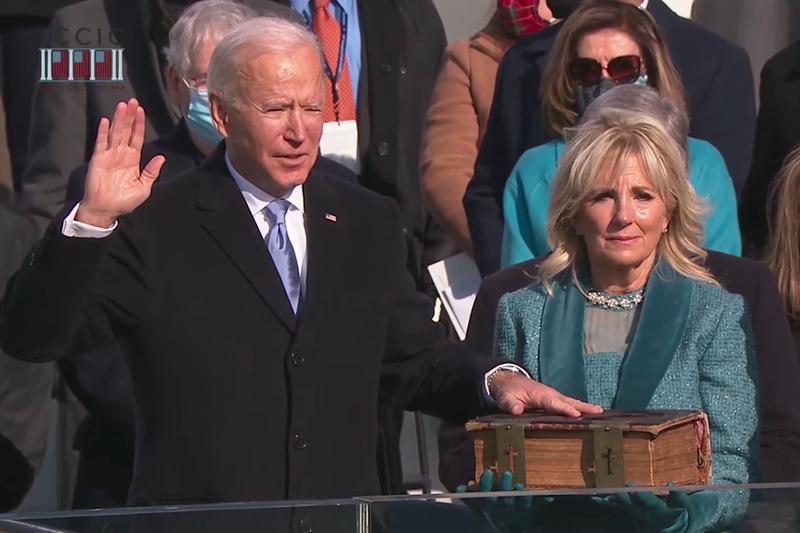 バイデン新大統領誕生、聖書の詩篇を引用し「米国の結束」呼び掛ける就任演説