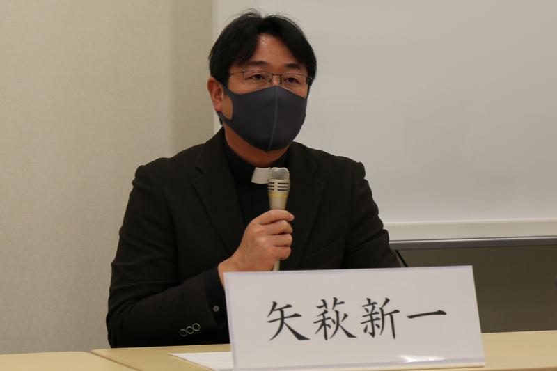 核兵器は「存在自体が絶対悪」 日本の宗教者が核禁条約発効で声明、鷲尾副外相と会談