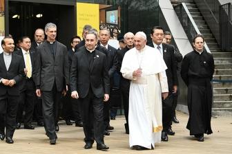 教皇フランシスコ来校1年を記念 上智大がオンライン企画展