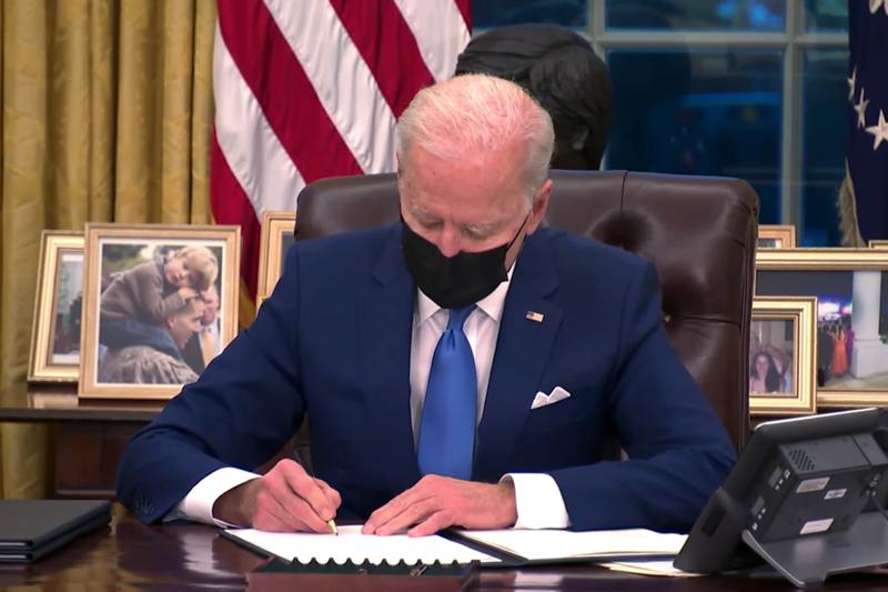 ジョー・バイデン米大統領(画像:ホワイトハウスの動画より)