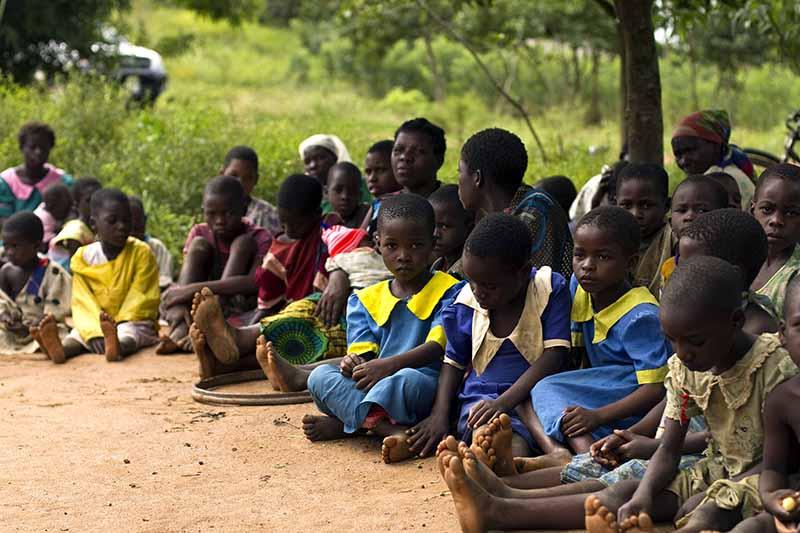マラウイの子どもたち(写真:Swathi Sridharan / ICRISAT)