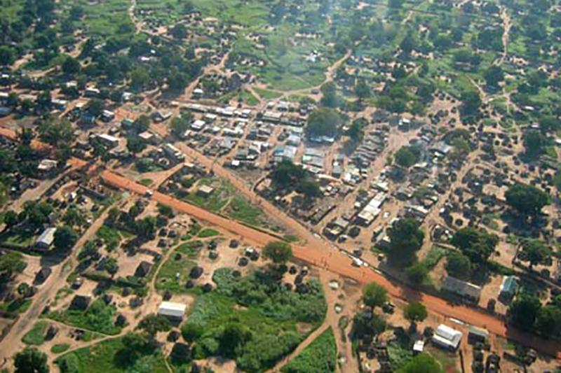 南スーダンの首都ジュバ(写真:Aguek)
