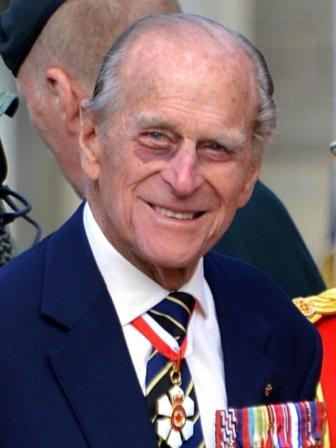 英国のエリザベス女王の夫であるエジンバラ公フィリップ殿下