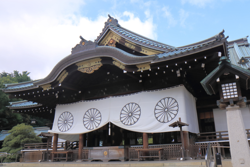 靖国神社(写真:TK Kurikawa)