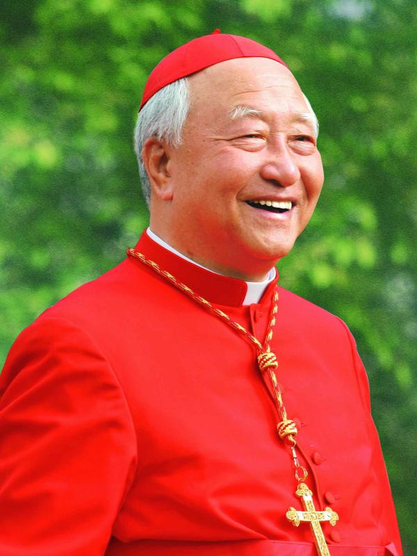 ニコラス鄭鎮奭(チョン・ジンソク)枢機卿(写真:カトリックソウル大司教区のフェイスブックより)