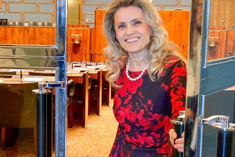 性に関する聖句をSNSへ投稿したことなどで、ヘイトスピーチなどの罪で起訴されたフィンランド元内相のパイビ・ラサネン議員(写真:ADFインターナショナル)