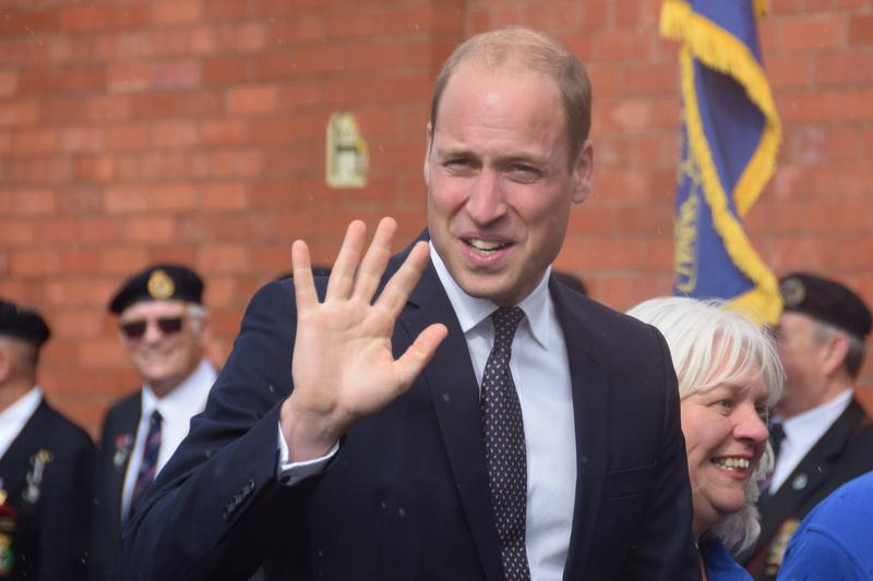 英国のウィリアム王子=2017年9月14日(写真:Paul Townley)