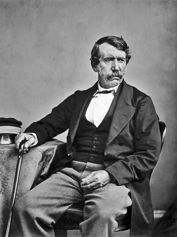 リビングストン(1813〜73、写真:Thomas Annan)