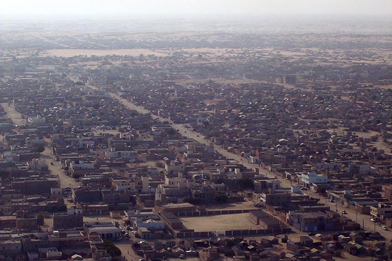 モーリタニアの首都ヌアクショット