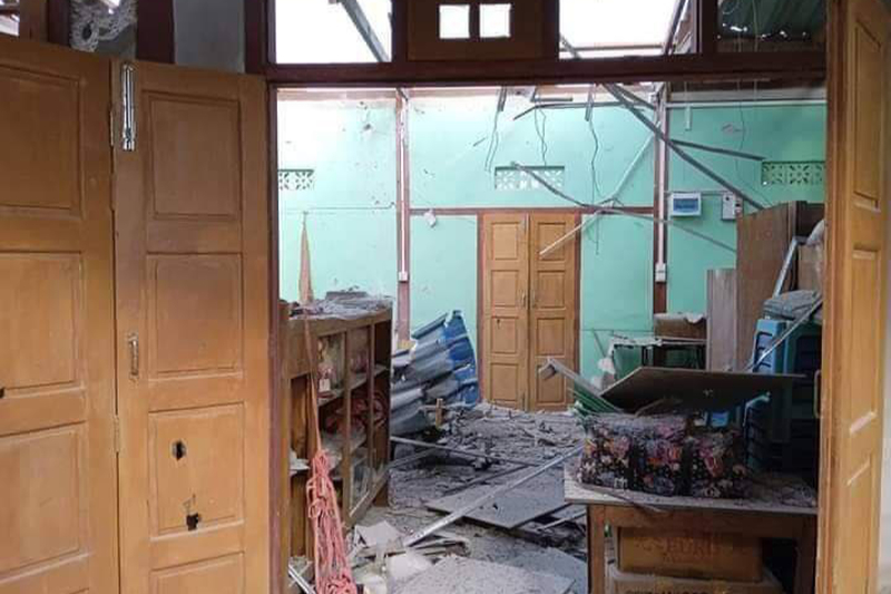 ミャンマー国軍、教会を再び砲撃 小神学校でボランティアの青年1人殺害