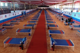 インドのメガチャーチ、教会施設をコロナ隔離治療センターに改装 300病床整備