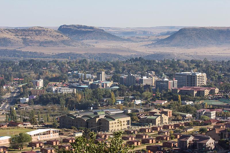 レソトの首都マセル(写真:OER Africa)