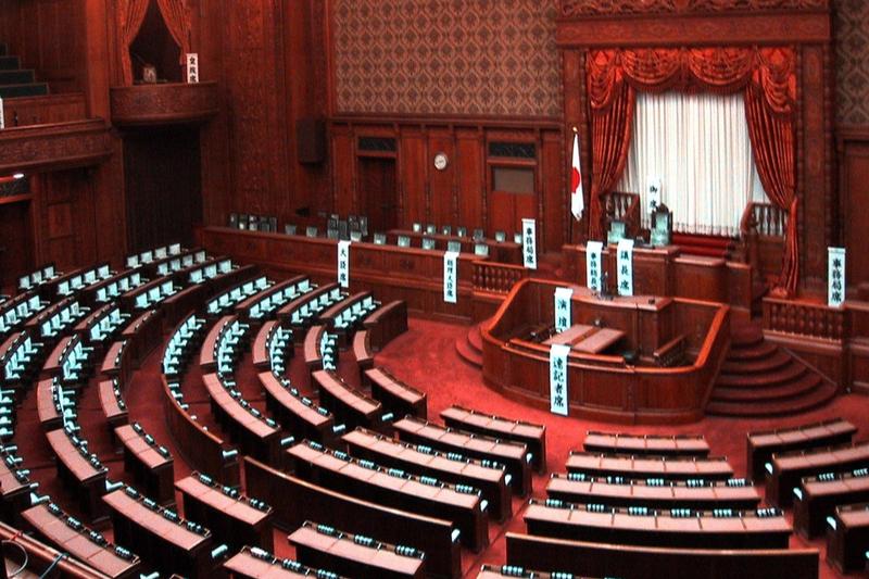 参議院本会議場(写真:Chris 73)