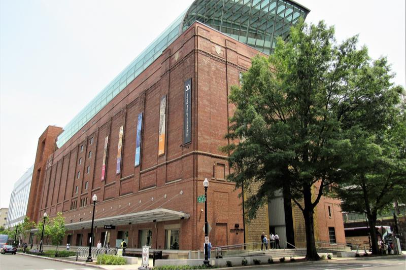 2017年にオープンした米首都ワシントンの「聖書博物館」(写真:Farragutful)
