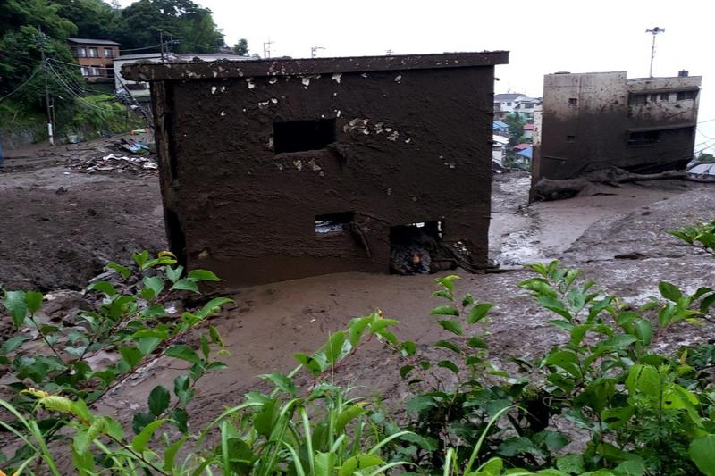 神戸国際支縁機構、熱海土石流の被災地訪問 支援物資届ける