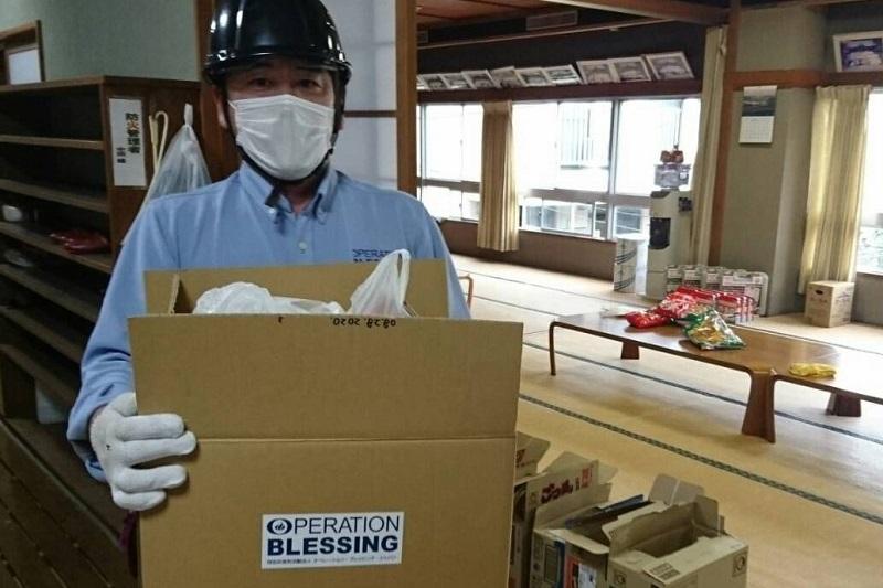 熱海土石流被災の高齢者や障がい者らを支援 オペレーション・ブレッシング・ジャパン
