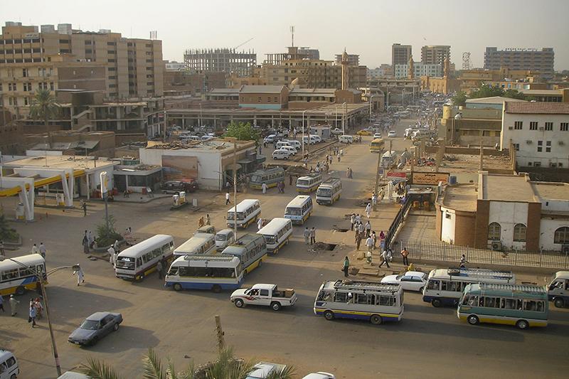 スーダンの首都ハルツーム(写真:ニュージーランド国防軍)