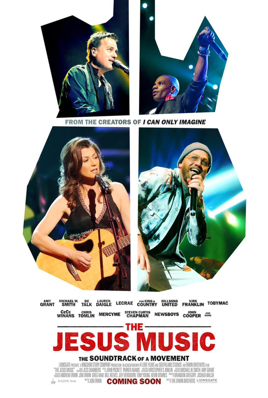 映画「ジーザス・ミュージック(The Jesus Music)」(原題)のポスター