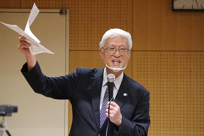 「コロナ禍での伝道の突破口を拓こう」 神戸平和研究所理事長の杣浩二氏が講演