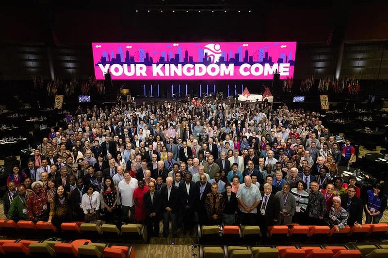 2019年11月にインドネシアで開催された世界福音同盟(WEA)の第13回総会。世界92カ国から福音主義の指導者ら千人近くが参加した。(写真:WEAのフェイスブックより)<br />