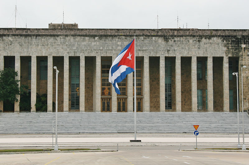 キューバ共産党本部(写真:Marco Zanferrari)