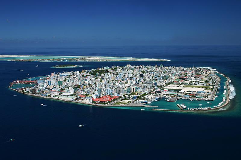 モルディブのマレ島(写真:Shahee Ilyas)