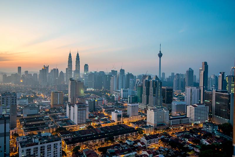 マレーシアの首都クアラルンプール(写真:Jorge Láscar)