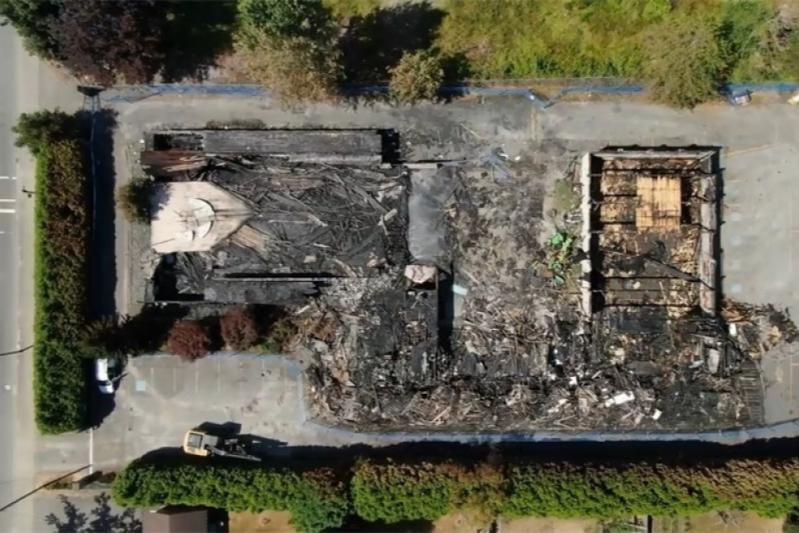 相次ぐ放火事件で焼失したカナダの正教会、再建のために寄付金7千万円超集まる