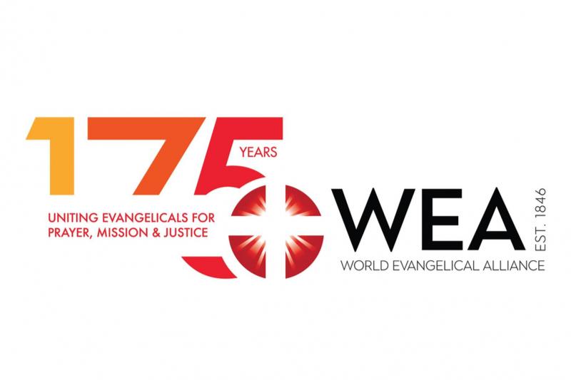 世界福音同盟(WEA)の設立175周年記念ロゴ