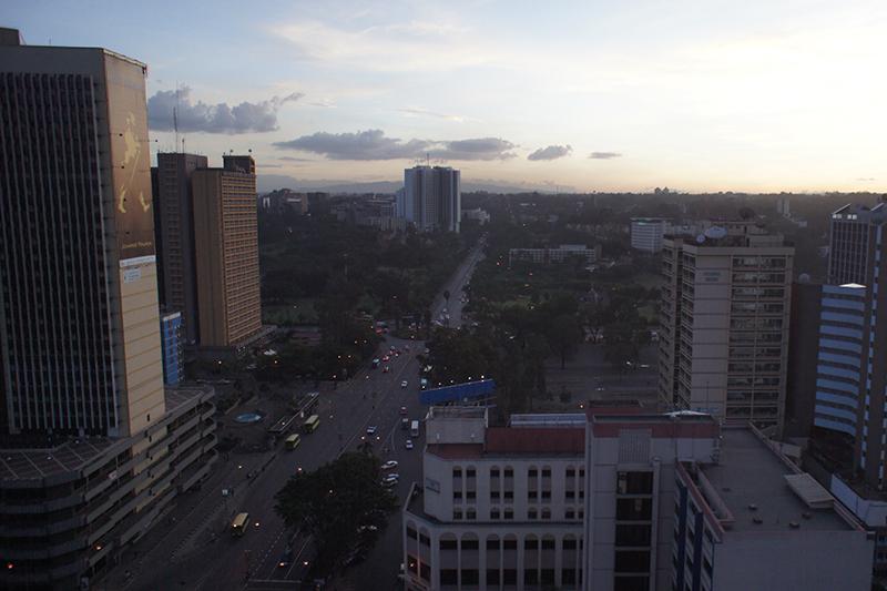 ケニアの首都ナイロビ(写真:Dietrich Ayala)