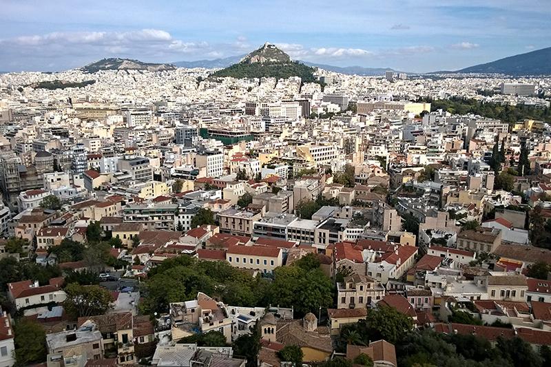 ギリシャの首都アテネ(写真:Jan M)