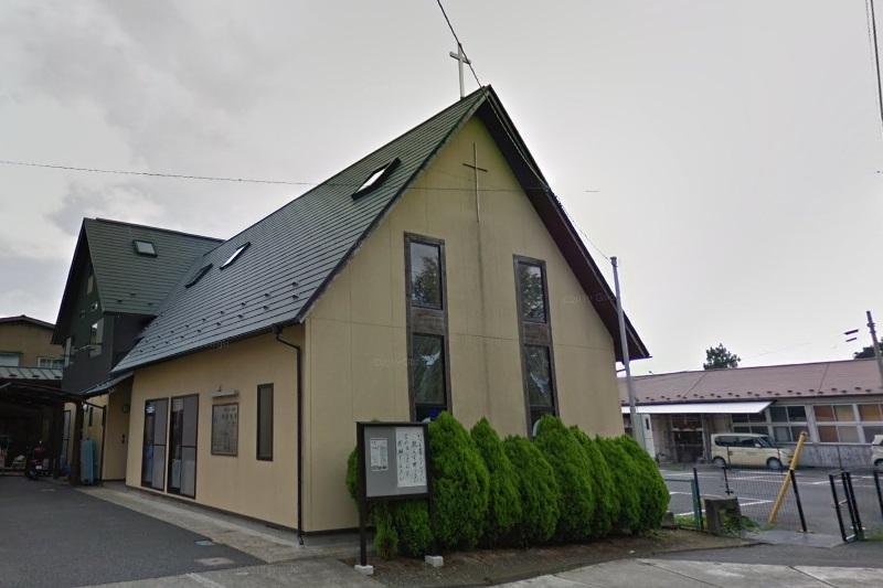 日本基督教団涌谷教会(写真:グーグル・ストリートビューより)