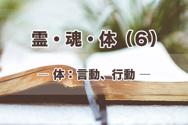 霊・魂・体(6)体:言動、行動 加治太郎