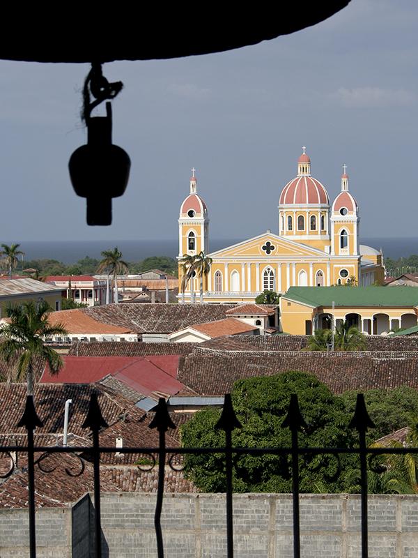 ニカラグアの都市グラナダの大聖堂(写真:Sebastian Scheper)