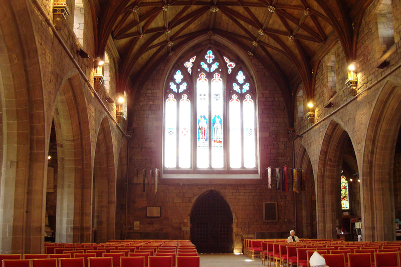 ウェールズ聖公会セントアサフ教区の主教座聖堂であるセントアサフ大聖堂(写真:John Armagh)