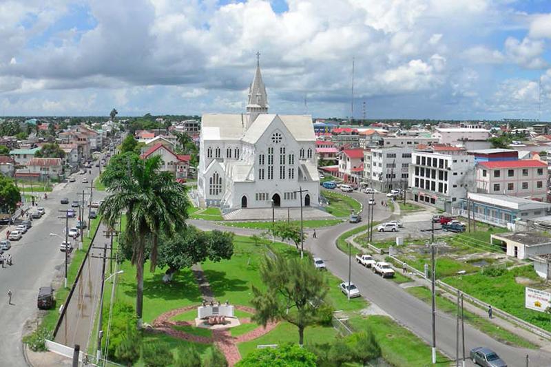 ガイアナの首都ジョージタウンにある聖ジョージ大聖堂(写真:Johnldasilva)
