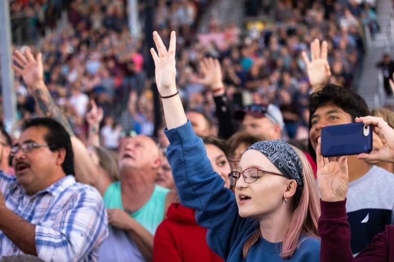 フランクリン・グラハム氏、コロナ発生以来最大規模の伝道ツアー 5千人超が信仰決心