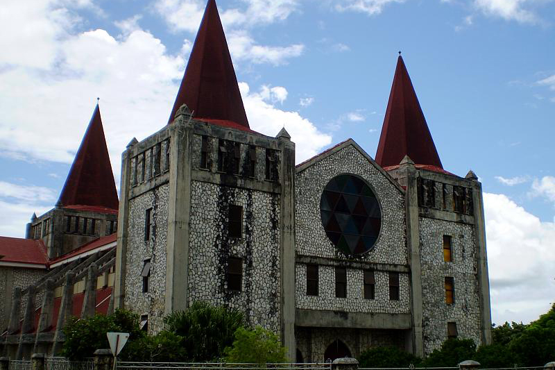 トンガ自由教会(写真:Tony Bowden)