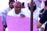 インドで続くキリスト教徒への暴動に抗議する人々=ニューデリー(ゴスペル・フォー・アジア)