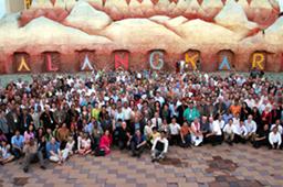 世界各国から500人以上の福音主義キリスト教指導者が参加した=28日、タイのパタヤで(WEA)