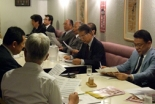 来年3月5日に開催する第10回国家晩餐祈祷会に向けて開かれた第1回準備会=6月12日、在日本韓国YMCA(東京都千代田区)で