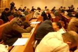 08年の断食祈祷聖会の様子=東京中央教会(東京都新宿区)で