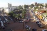 首都カンパラの中心街の様子