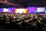 198カ国の代表ら4000人以上に加え、ネット通信やウェブサイトを通じて全世界20万人規模のクリスチャンが会議に参加した=10月17日、ケープタウン国際会議場で