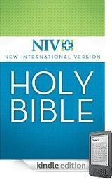 21日に販売が開始されたNVI改訂訳の電子書籍(キンドル版)